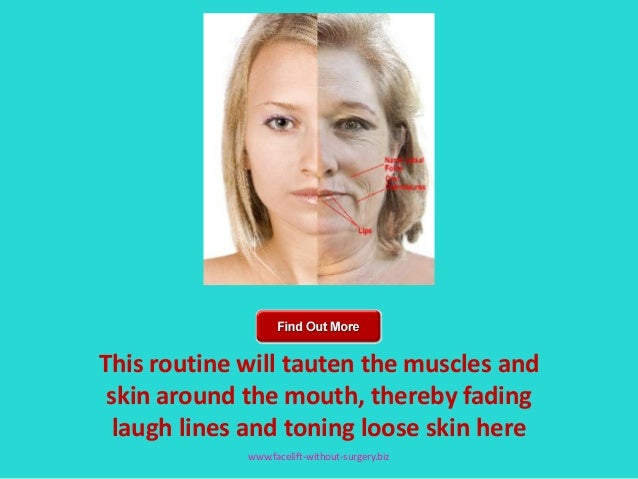 Facial toning excercise