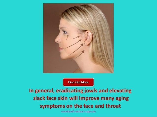 Tighten jowls facial exercise