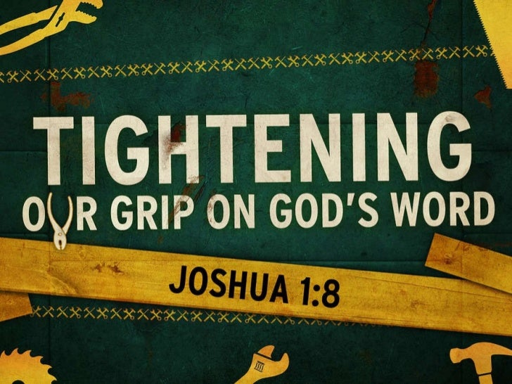 Tightening Our Grip On Gods Word Slide 1