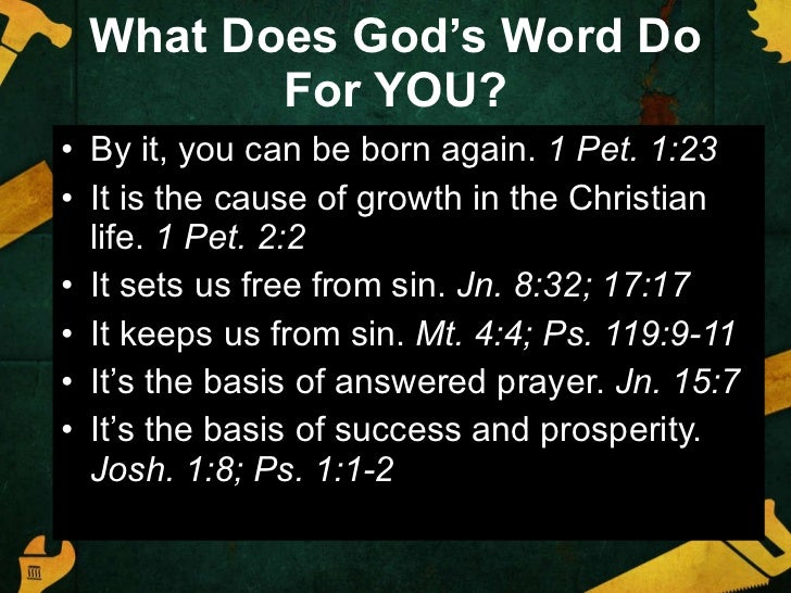 Tightening Our Grip On Gods Word Slide 3