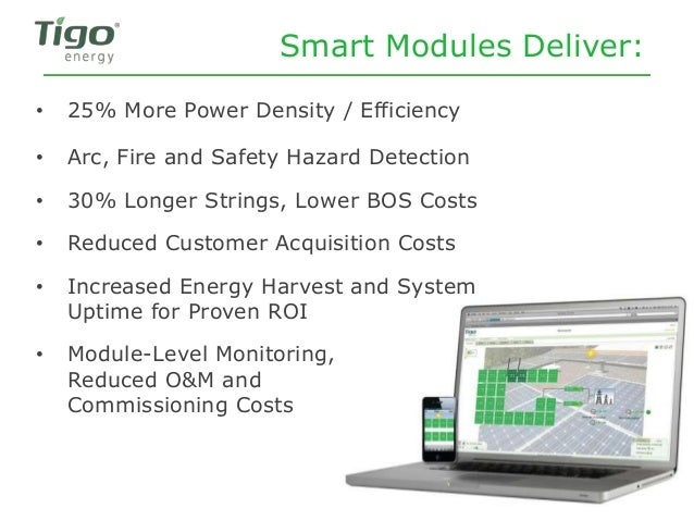 Smart Modules Deliver: • Arc, Fire and Safety Hazard Detection • 30% Longer Strings, Lower BOS Costs • Reduced Customer Ac...