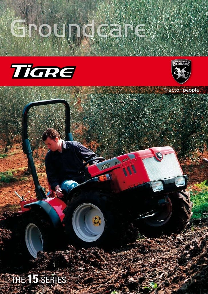 Groundcare                  Tractor people     THE 15 SERIES