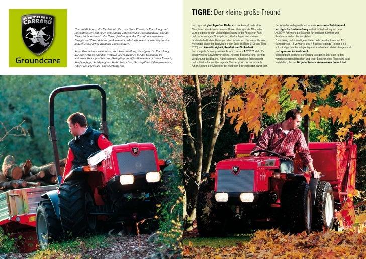 Kataloge & Prospekte ZuverläSsig Prospekt Antonio Carraro Tigre 3100 Serie 15 Baugewerbe