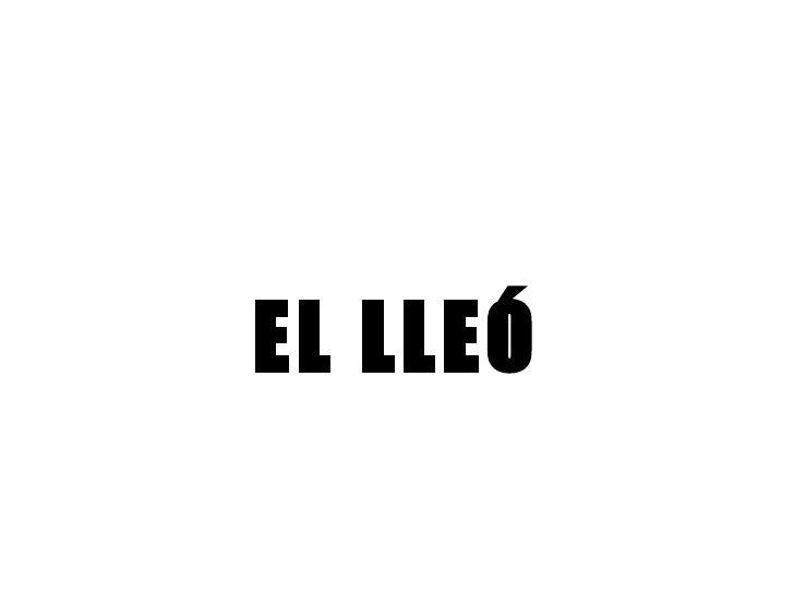 EL LLEÓ