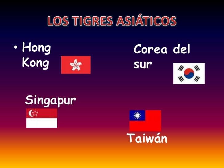 Resultado de imagen de los tigres asiaticos que son