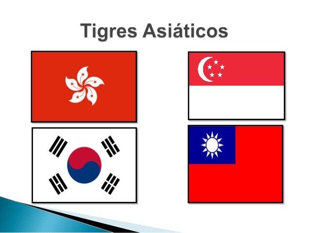 """A denominação de """"Tigres Asiáticos"""" é dada ao grupo de países que na década de 80 apresentaram um crescimento econômico el..."""