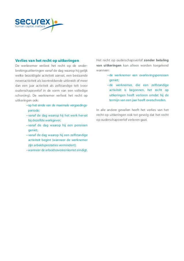 voorbeeld brief ouderschapsverlof Voorbeeld Brief Ouderschapsverlof | gantinova