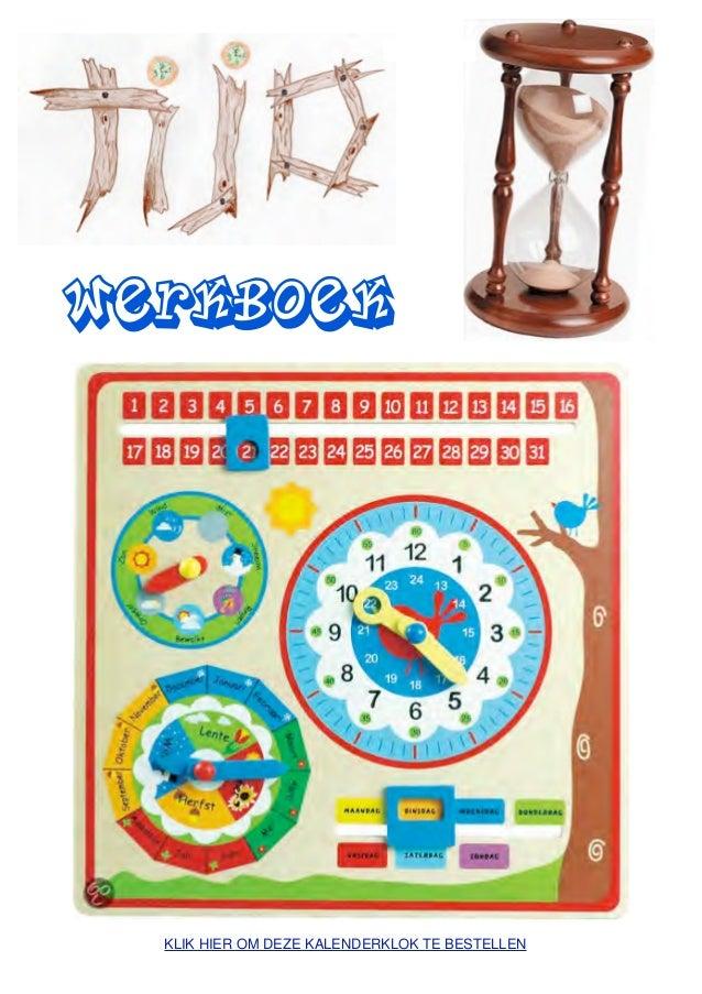 Tijd werkboek met tijd-werkbladen voor de jeugdboekenweek in Vlaanderen. Thema 2-17 maart 2013: Een zee van tijd.werkboek ...