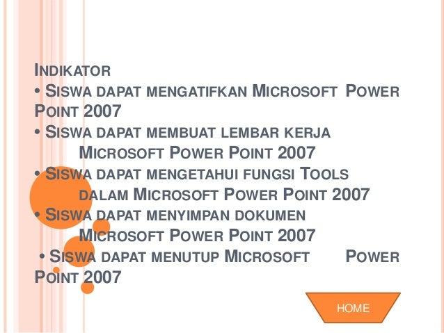 MS POWERPOINT 2007 TIK BAB 1 Slide 3