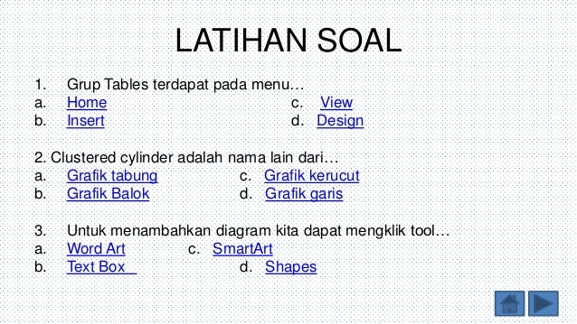 Soal diagram grafik gallery how to guide and refrence ppt tik tabel grafik dan diagram diinginkan 12 latihan soal yomedutiso gallery ccuart Gallery