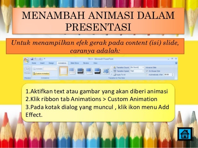 MS PowerPoint 2007 Bab II