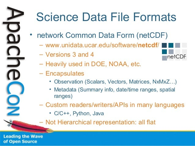Scientific data curation and processing with Apache Tika