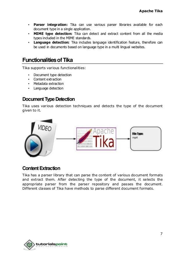 Tika tutorial
