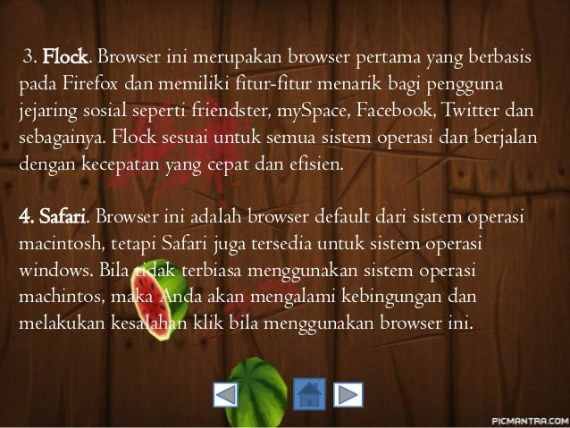 Perangkat Keras & Akses Internet (Media Pembelajaran Ms.Power Point BAB V)
