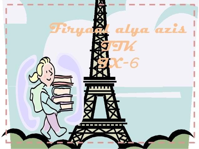 Firyaal alya azis      TIK     IX-6