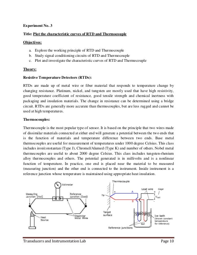 transducer and instrumentation lab manual rh slideshare net Simple Series Circuit Battery Circuit