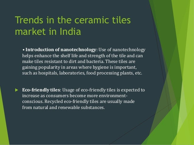 Tiles industry in India