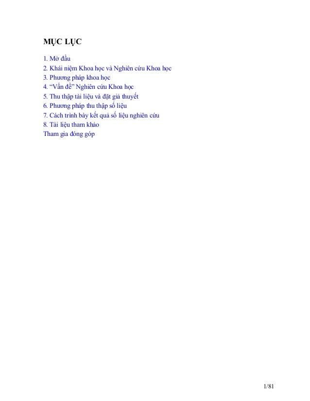 Tài liệu giáo trình phương pháp nghiên cứu khoa học Slide 3