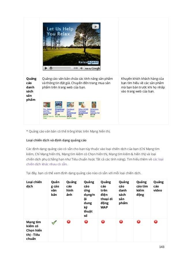 Tài liệu học google adwords