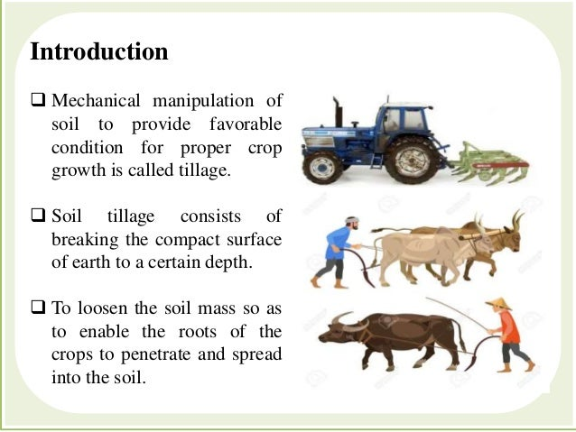 Farm Power And Machinery  TILLAGE Slide 2