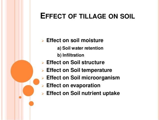Conservation tillage water penetration evaporation texas