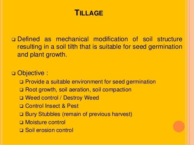 tillage  u0026 land preparation