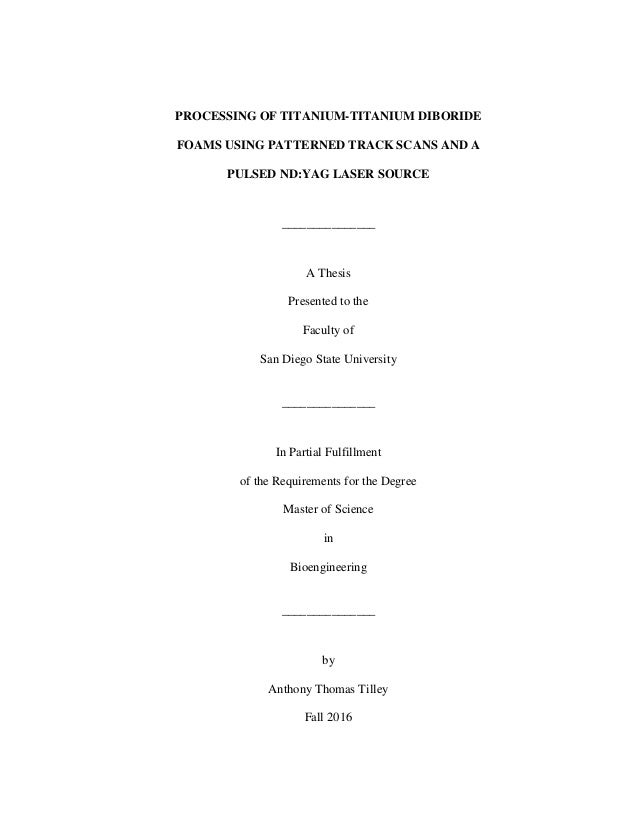 Master thesis on image processing