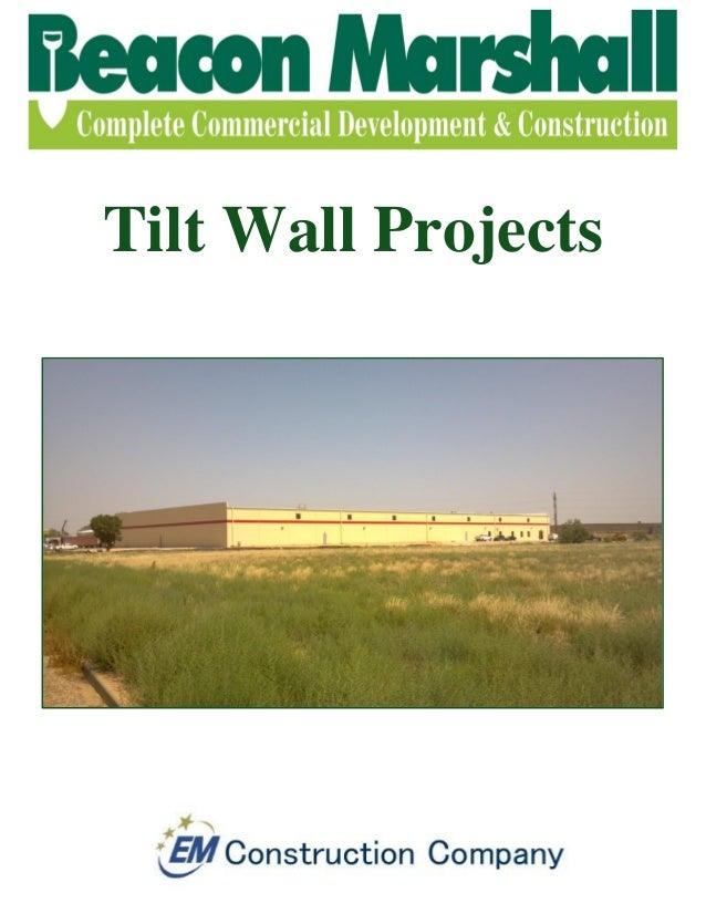 Tilt Wall Projects