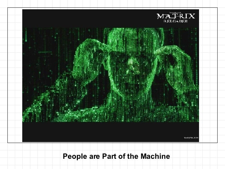 People are Part of the Machine
