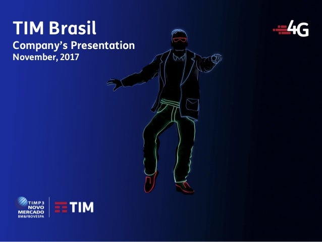 1 Meeting with Investors Investor Relations TIM Brasil Company's Presentation November, 2017