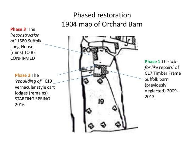 Timber Framing Repairs at Orchard Barn