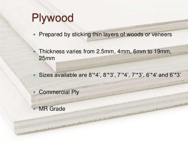 Standard Wood Veneer Thickness Free Woodworking Plans Dvd