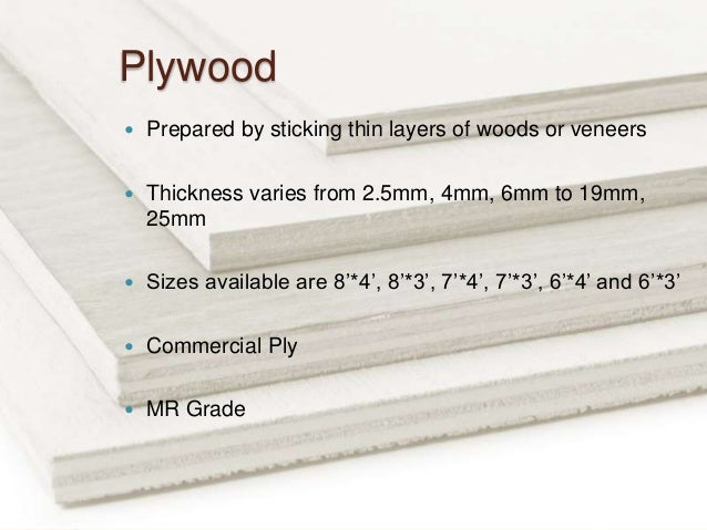 Timber - Types of Woods Plywood Veneer Laminate Blockboard with Mu