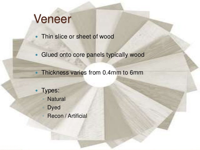 Timber - Types of Woods, Plywood, Veneer, Laminate, Blockboard with Market  Survey