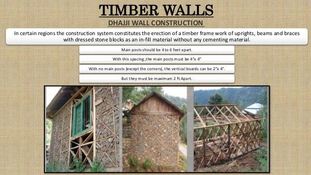 timber: vernacular building material