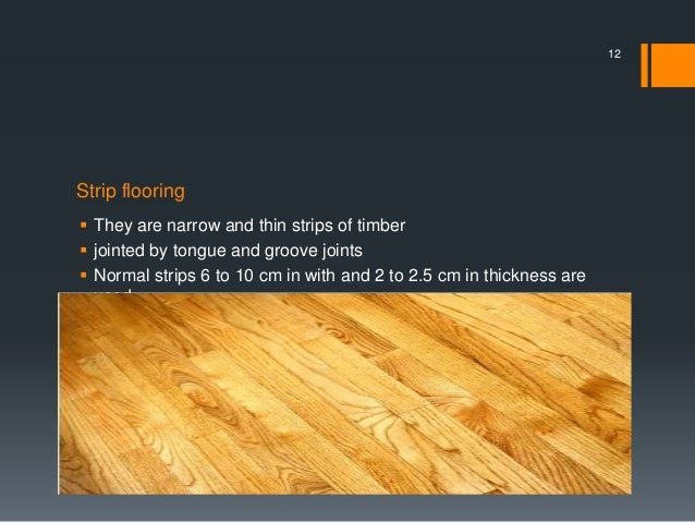 Plank Flooring 11 12 Strip