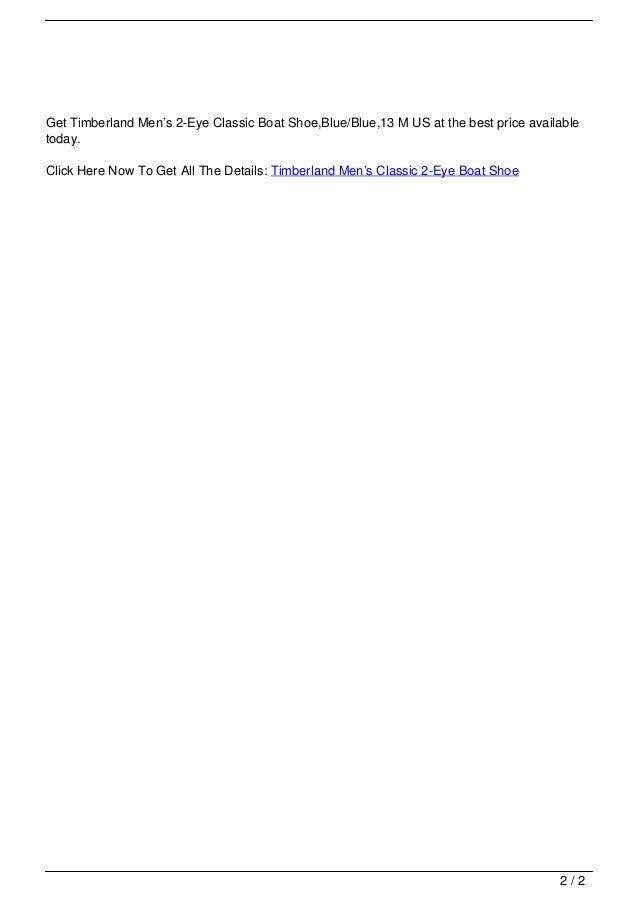 d78b9f59fe Read more 1 2  2. Get Timberland Men s 2-Eye Classic ...
