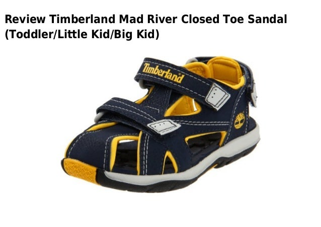 Review Timberland Mad River Closed Toe Sandal(Toddler/Little Kid/Big Kid)  ...