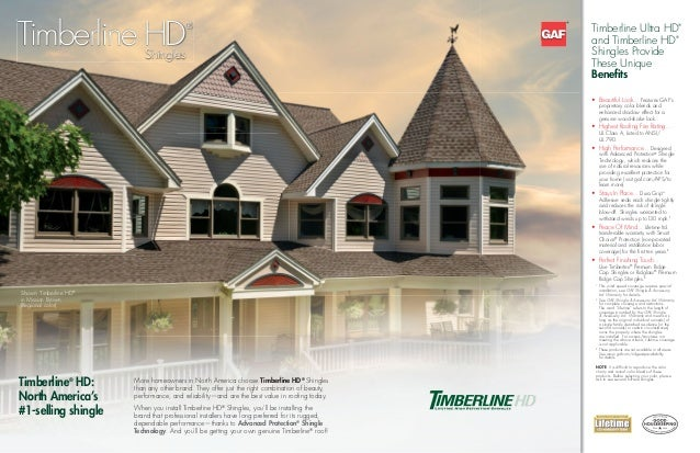 Timberline Hd Brochure