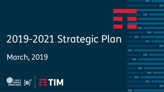 2019-2021 Strategic Plan March, 2019