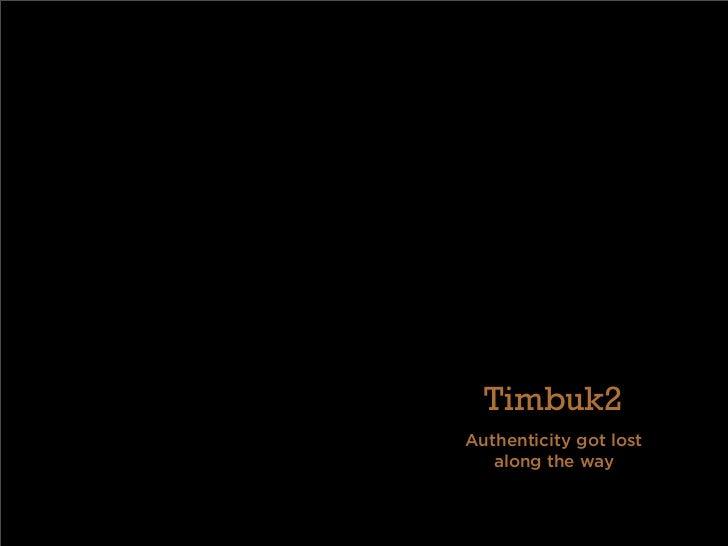 Timbuk2 Case Essay