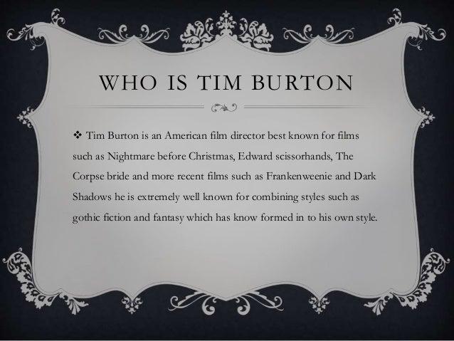 Tim Burton Film Auteur