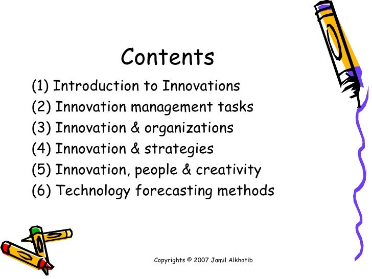 Technology and Innovation Management Slide 2