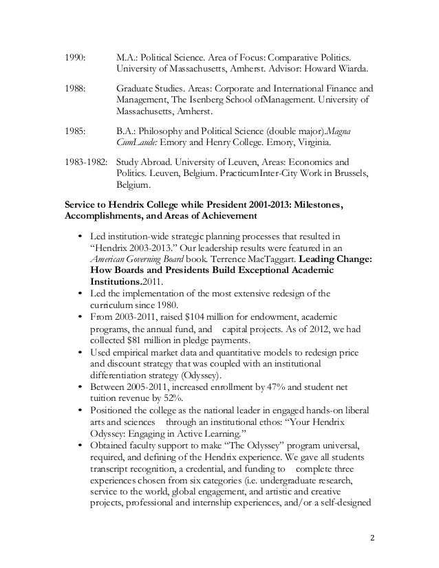 tim cloyd s cv and resume