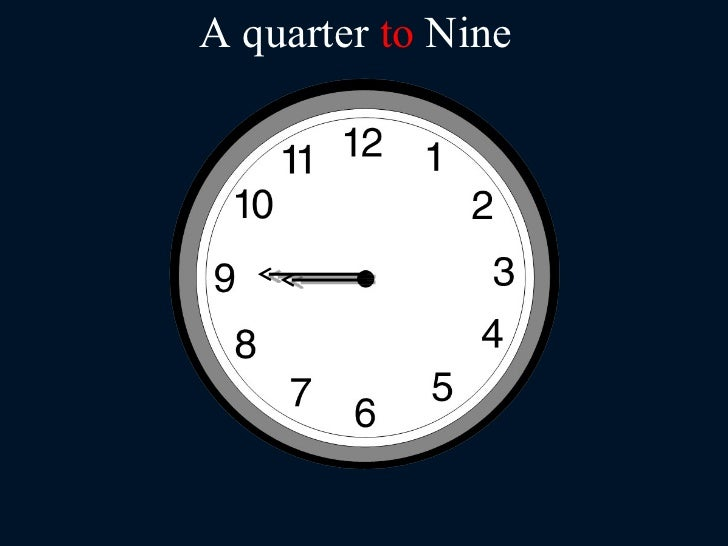 what is quarter to 7