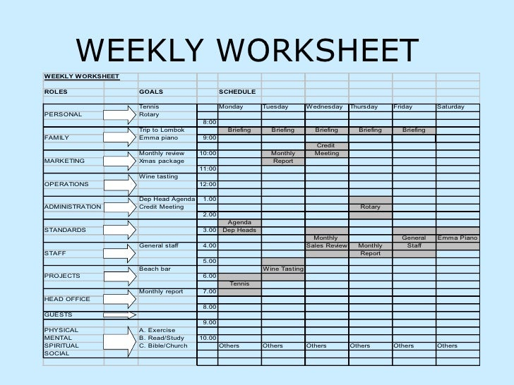 Time management sheet juveique27 worksheet time management ora exacta co ibookread PDF