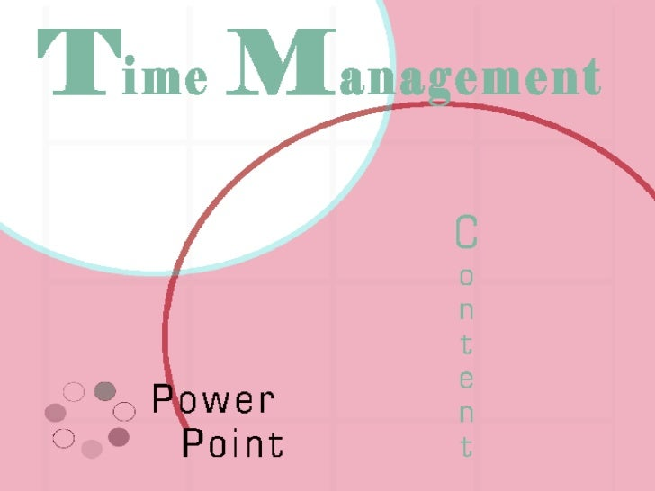 Time management powerpoint for Nursing time management template