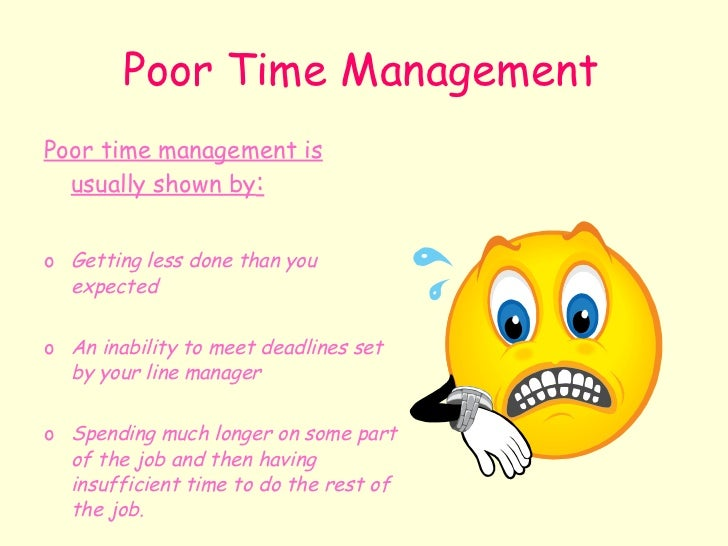 Time Management Slideshow