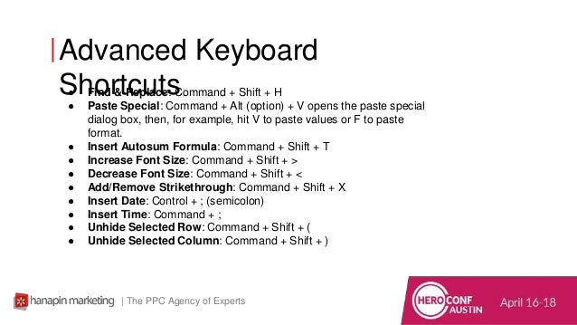 Time-Saving PPC Excel Shortcuts That Work
