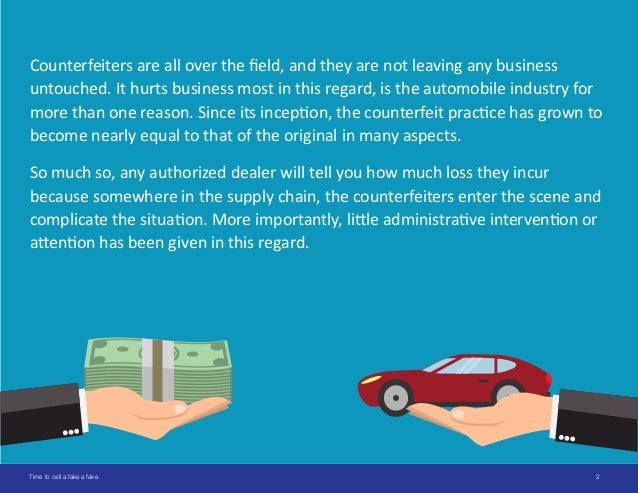 Meeting The Counterfeiters Head On The Expanding Business Of Fake Parts Slide 2
